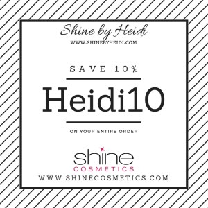 Shine Cosmetics Coupon Code