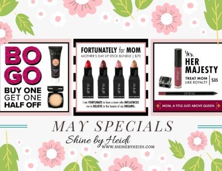 Shine Cosmetics May Specials