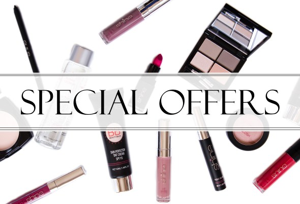 Shine Cosmetics Special Offers