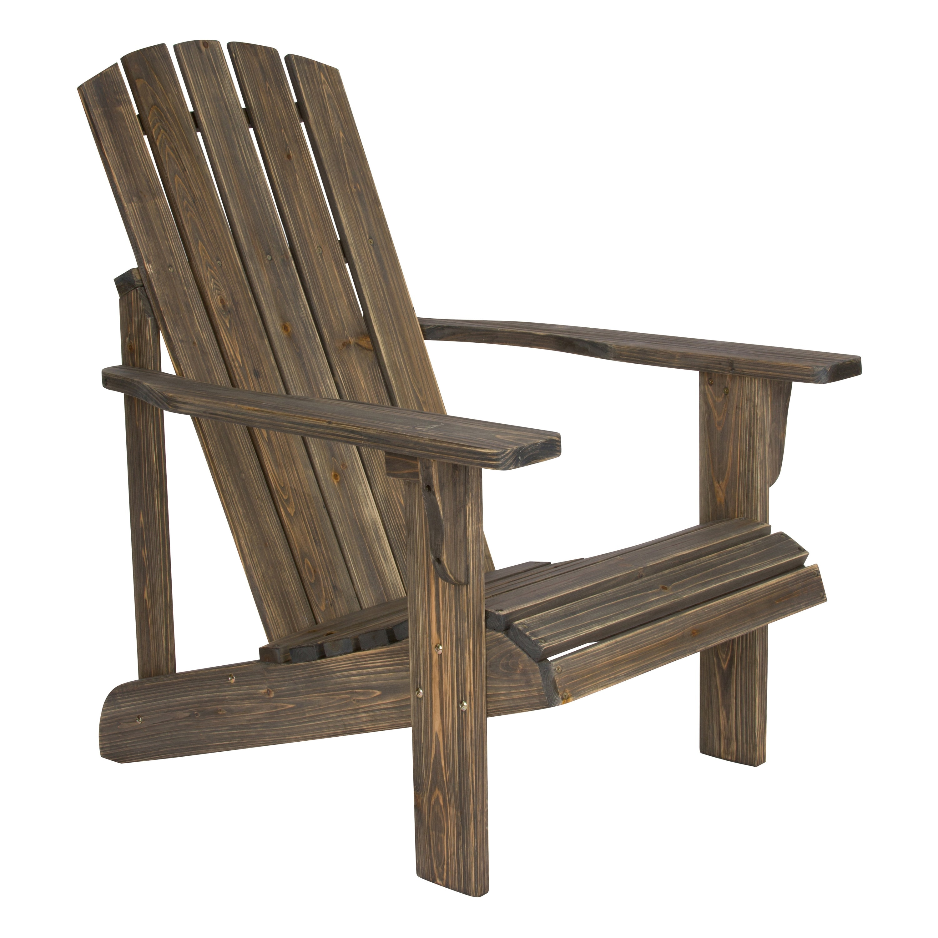 distressed adirondack chairs tree trunk table and lakewood rustic