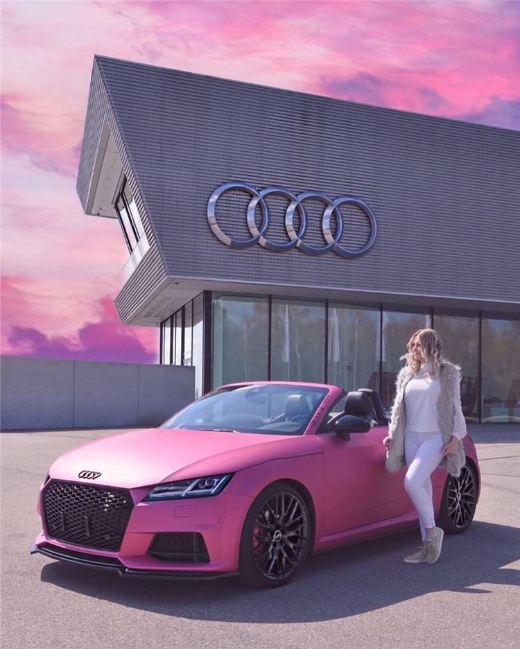 Pink Sport Cars : sport, Pretty, Fancy, Princess, Dream, Women, Fashion, Lifestyle, Shinecoco.com