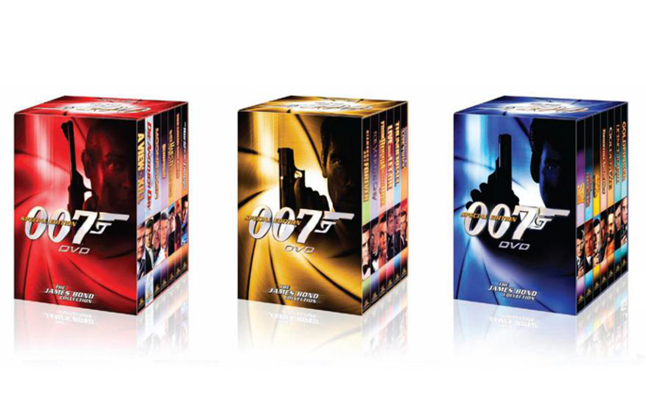 007 Special Edition Box Sets