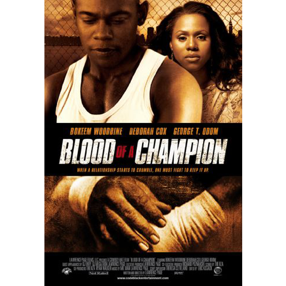 Blood of a Champion Keyart