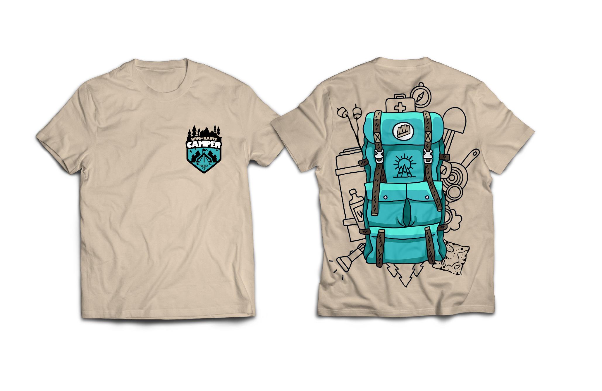 Camper T-Shirt Design - King of Harts - Melissa Joan Hart
