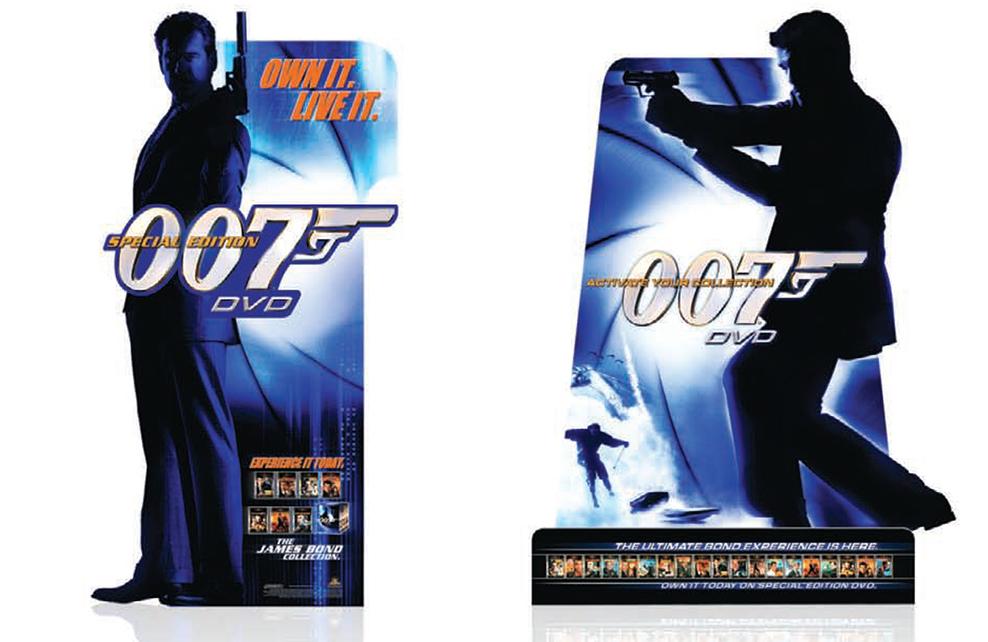 James Bond 007 Standees