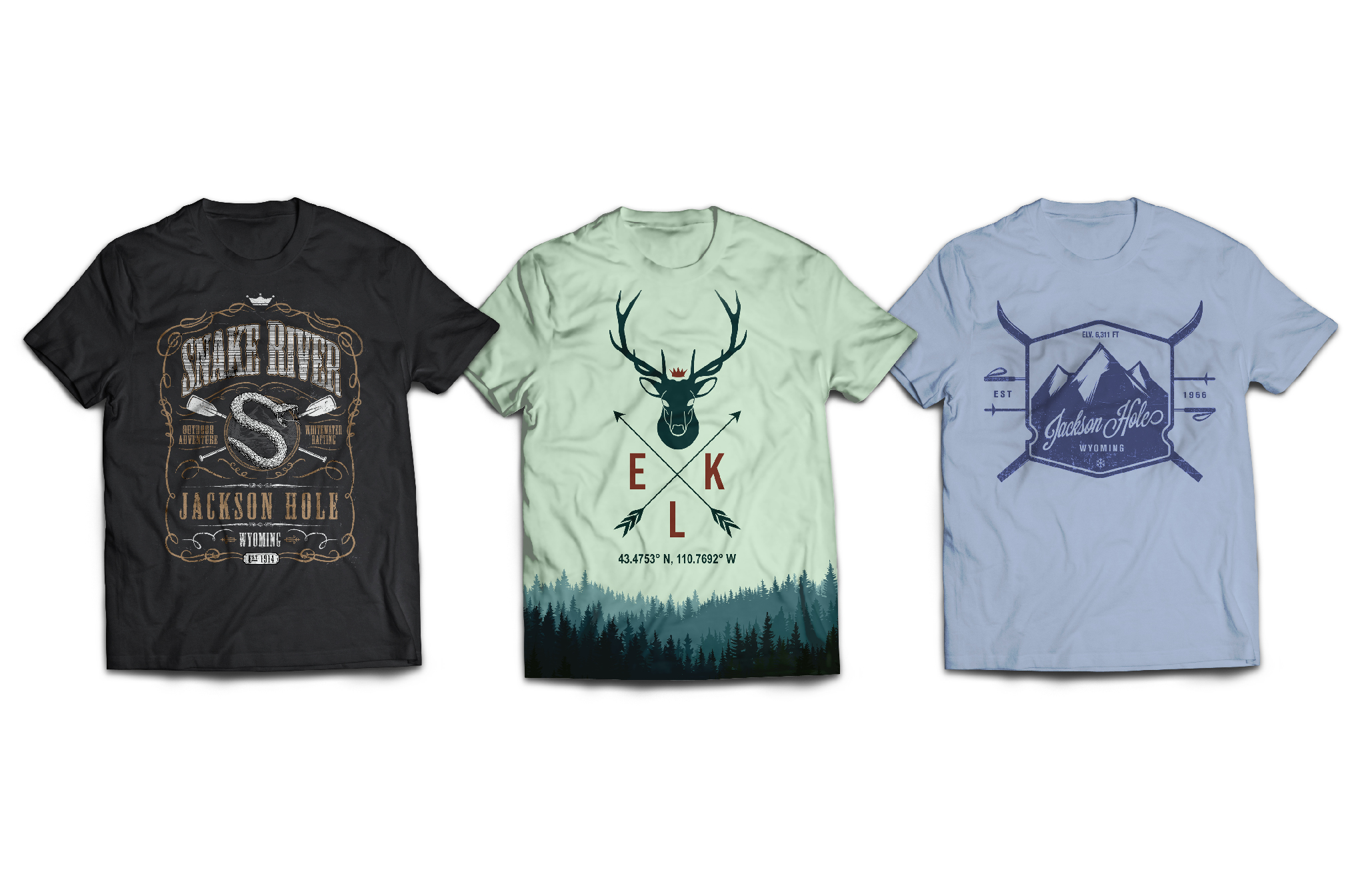 Mountain Inspired T-Shirt Design - King of Harts - Melissa Joan Hart