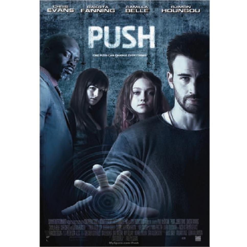 Push Keyart - Chris Evans