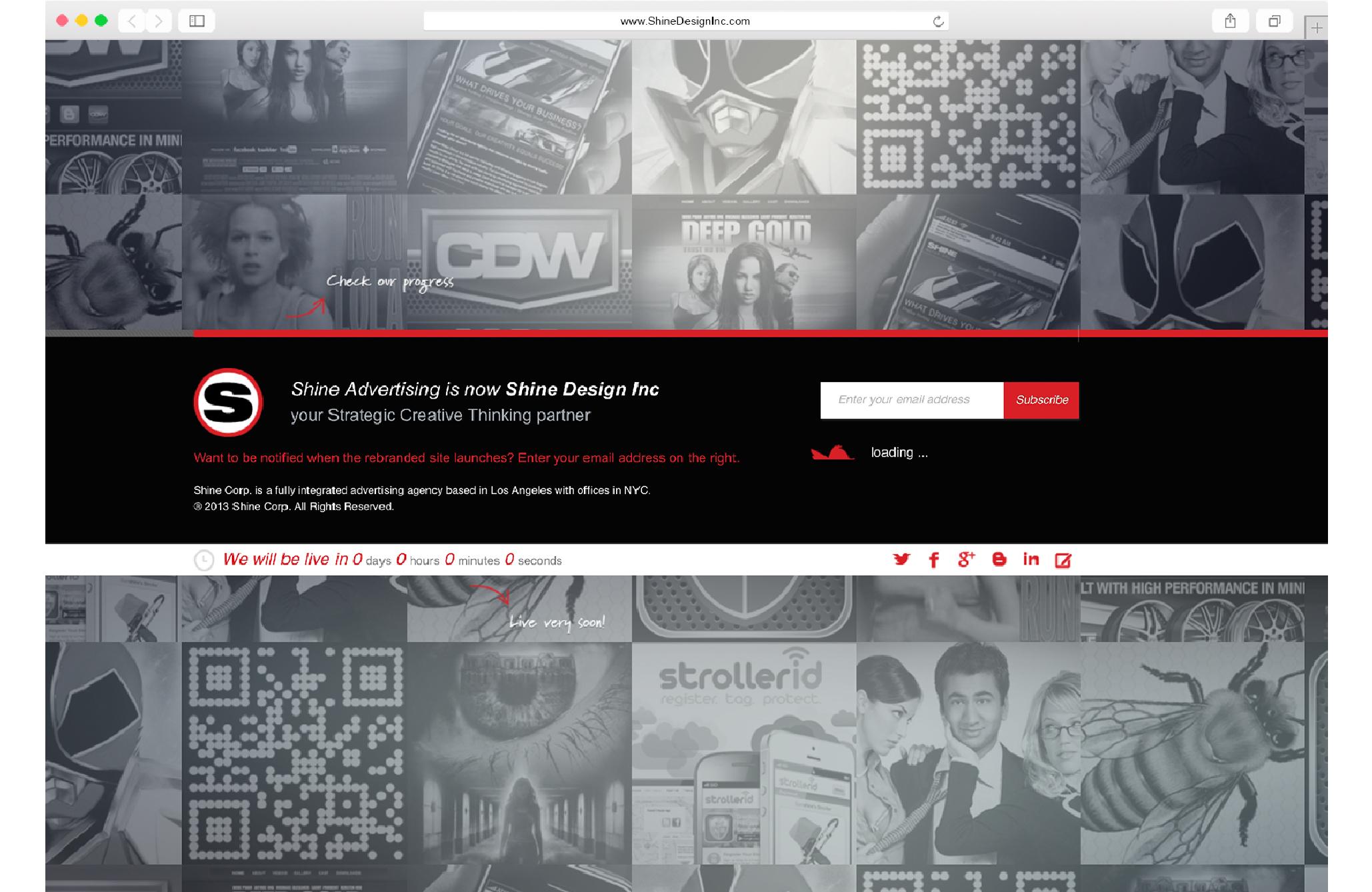 Shine Design Inc Archived Website 3