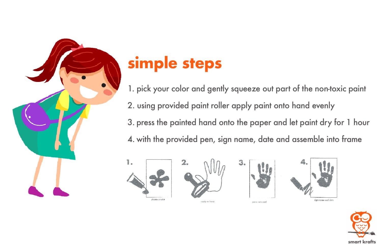 Smart Krafts - Packaging - Handprint Display Kit - 04