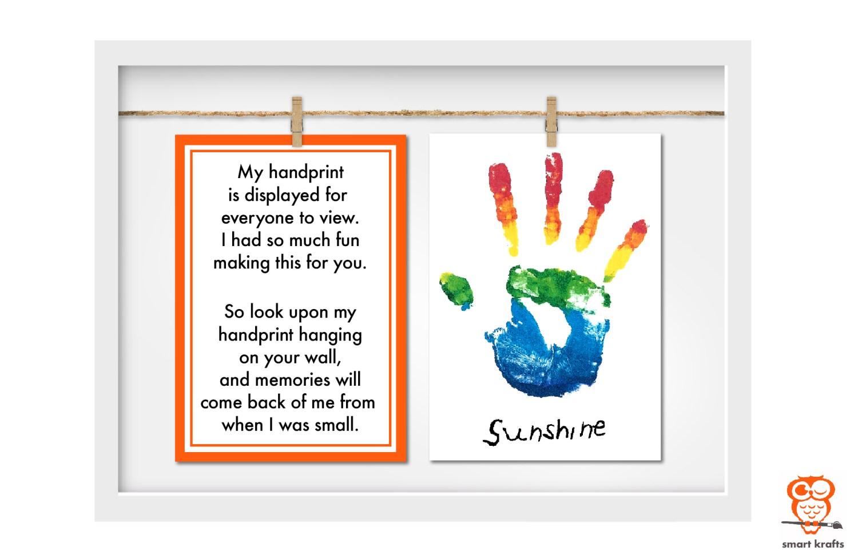 Smart Krafts - Packaging - Handprint Display Kit - 08
