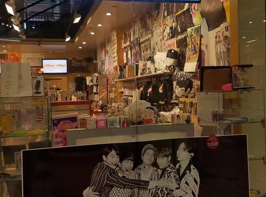 K-Pop Stores in the USA