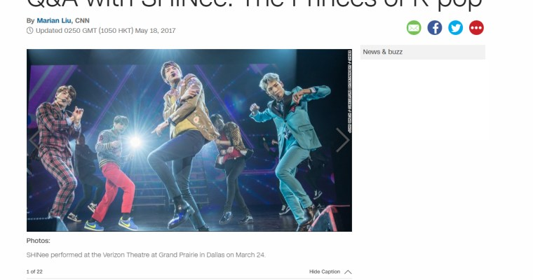 [Interview] CNN – SHINee World V in USA