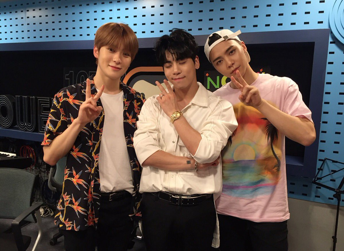 170627 Jonghyun on NCT's Night Night Radio