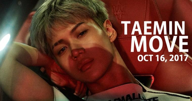 "Taemin: ""MOVE"" 2nd Kor. Album Release 10/16~!"