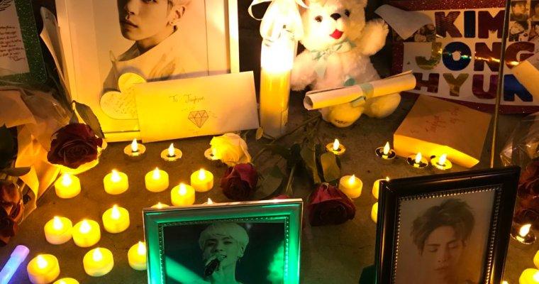 USA Jonghyun Vigils #JonghyunYouDidWell