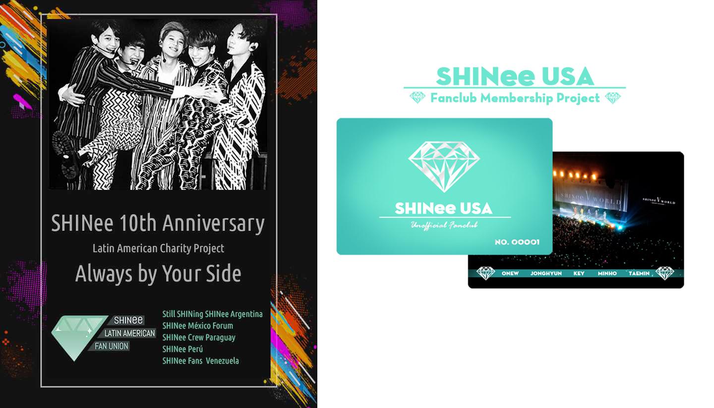 SHINee USA 10th Anniversary Charity Project