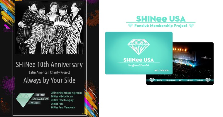 SHINee USA 10th Anniversary Charity Project