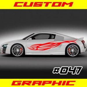 car graphic 047