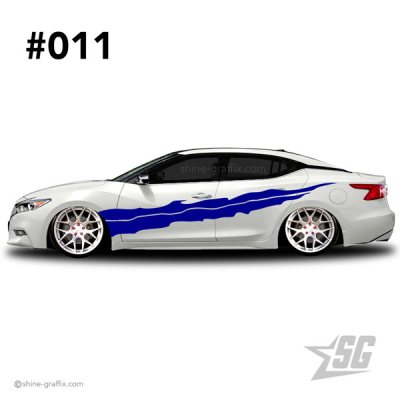 car graphic 11 decal stripe graphics pattern