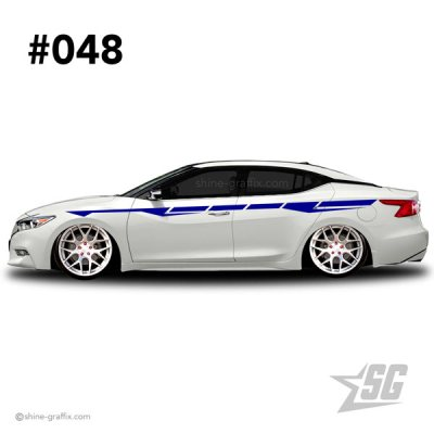 car graphic 48 decal stripe graphics fatlace