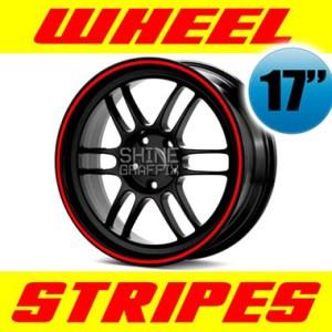"Wheel stripes for 17"" wheels"