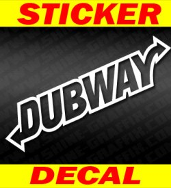 Dub way decal 2
