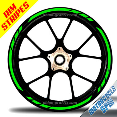 Wheel Rim Stripe Spin Bike