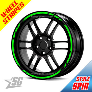 Wheel rim stripes - spin style universal