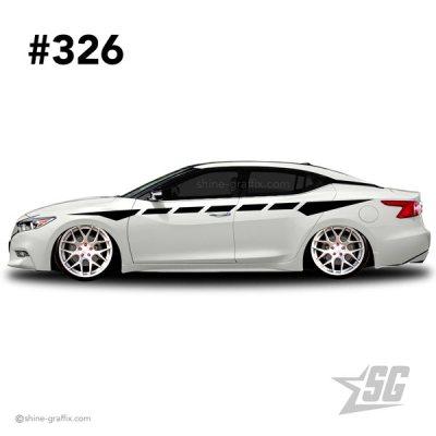 car graphic 326 decals stripe graphics racing