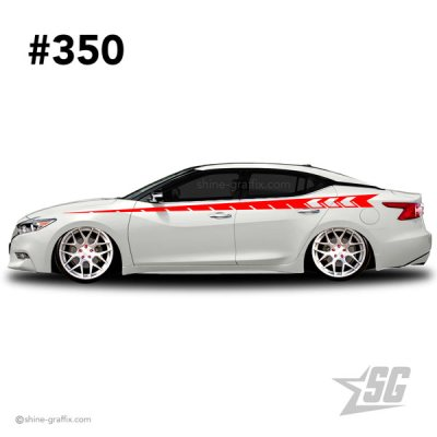 car graphic 350 decals stripe graphics stance dub