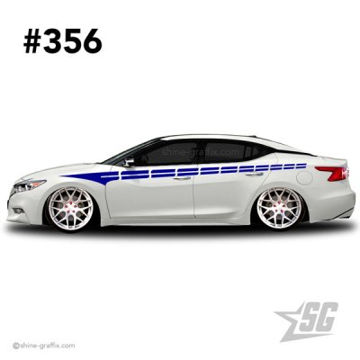 car graphic 356 decals stripe graphics stance nation