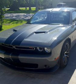 Challenger dual Racing stripes kit 2