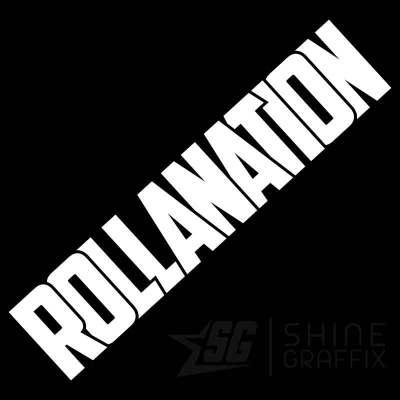Rollanation vinyl decal JDM Corolla club