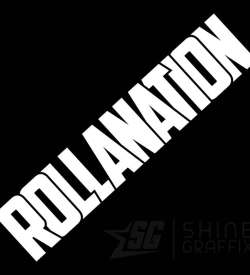 Rollanation vinyl decal JDM Corolla club
