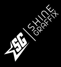 Shine Graffix decal logo