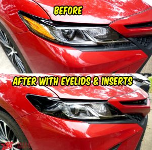 2020 toyota camry eyelids AMBER Delete before and after