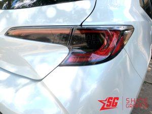 2020 corolla hatchback Rear Tail Lights tint black inserts