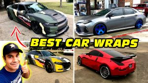 BEST CAR WRAPS Before & After by ShineGraffix