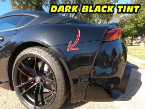 Mk5 Supra a90 Amber delete tint rear bumper