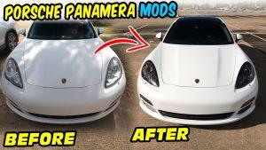 Porsche Panamera Mods tint 970 G1 Head Lights Tint