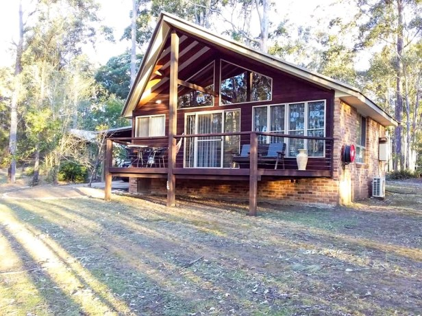 The cabins at Bewong River Retreat were an escape within itself.