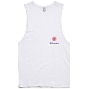 Purchase your Shine Om Tank Tee from shineom.com.au/shop