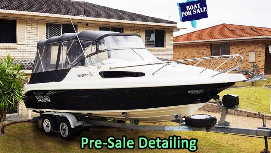 Detailing boat for sale