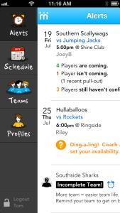 Teamstuff Mobile App