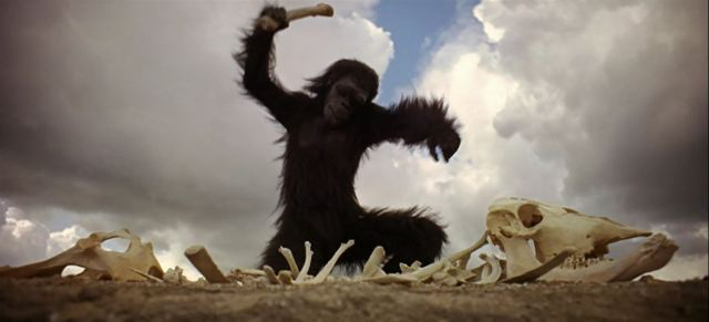 Ape-man-with-bone-from-Stanley-Kubricks-2001-A-Space-Odyssey