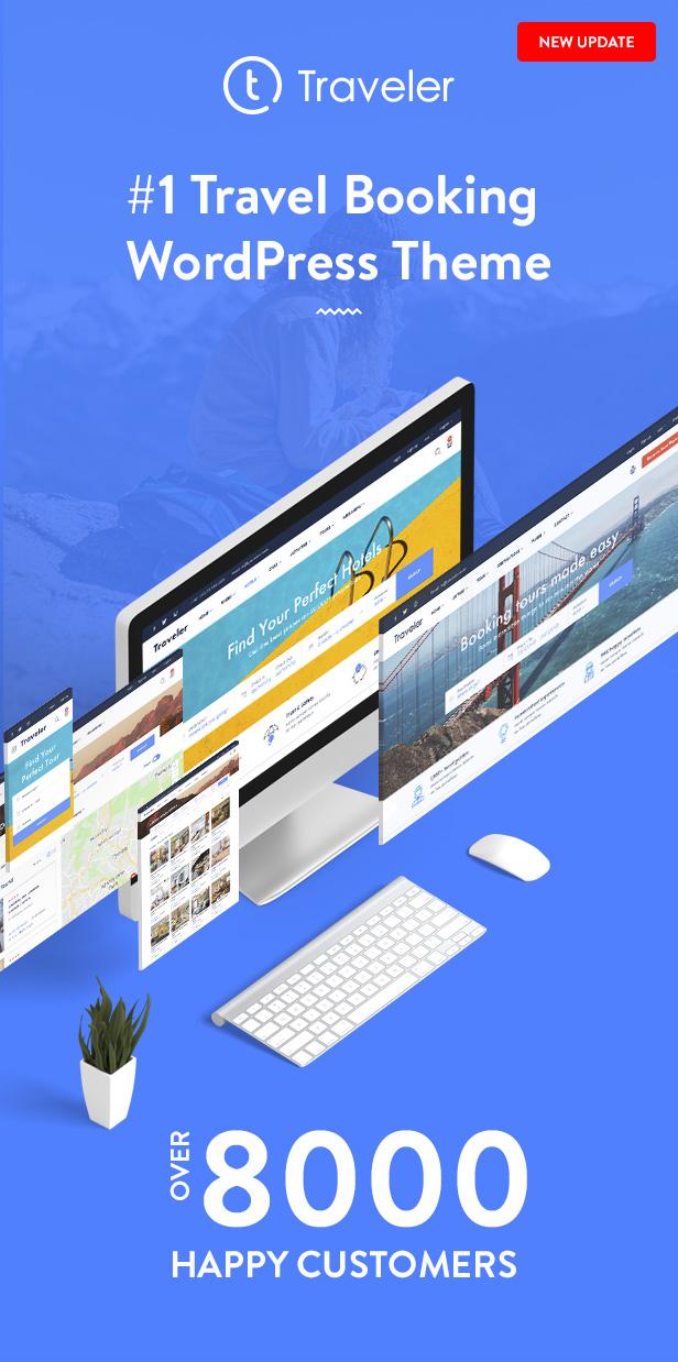 Travel Booking WordPress Theme - 17