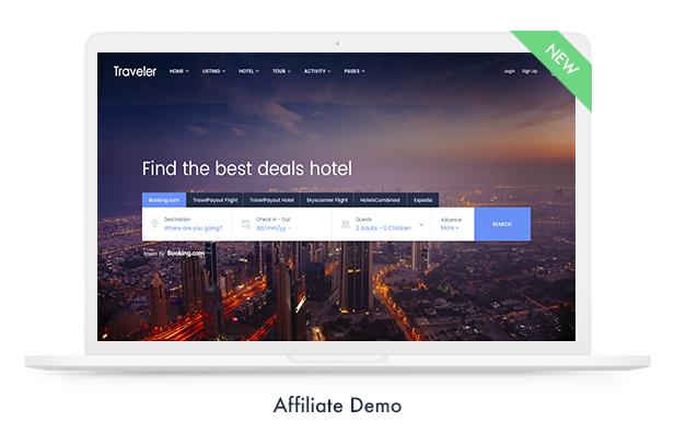 Travel Booking WordPress Theme - 15