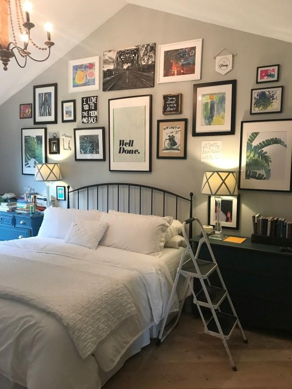 Master Bedroom Gallery Wall