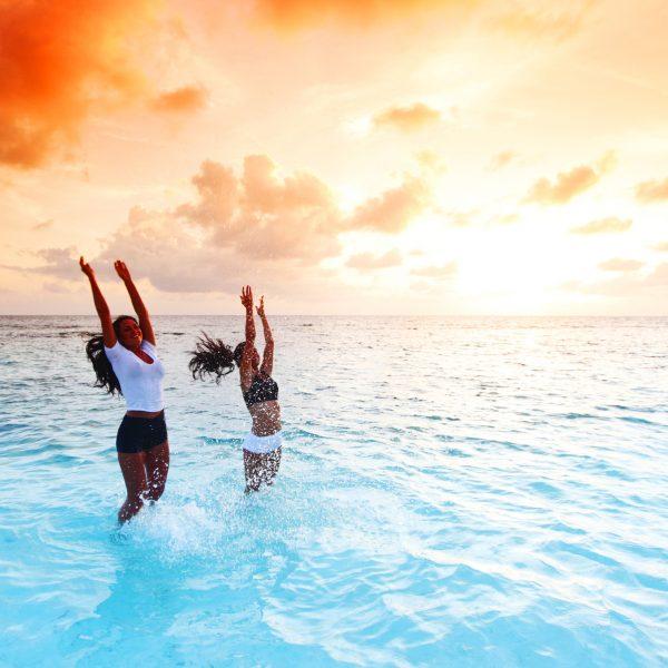 Yoga Retreats Shine Yoga Jump for Joy