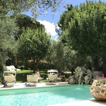Yoga Retreat near Rome Italy Beautifull Pool